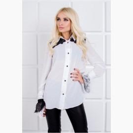 Стильная нежная блуза