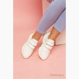 Повседневные женские кроссовки на застежках-липучках