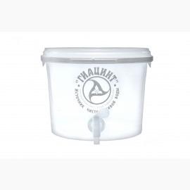 Емкость пластиковая для очистки воды, 10 л