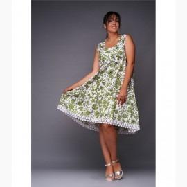 Платье миди XL L-28350