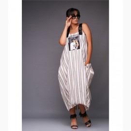 Платье миди XL L-28355