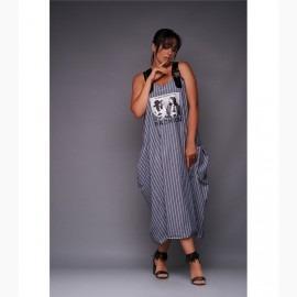 Платье миди XL L-28356