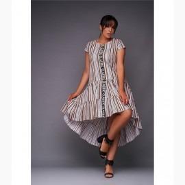 Платье миди XL